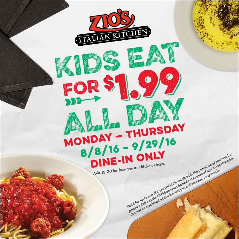 Zios discount coupons